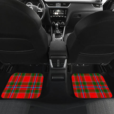 Image of Butter  Tartan Clan Badge Car Floor Mat 4 Pieces K7