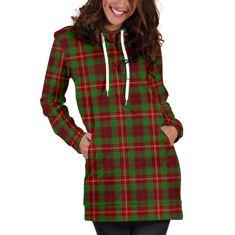 Image of Ainslie Tartan Hoodie Dress HJ4