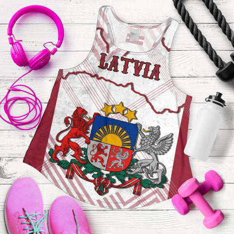 Latvia Women Tank Top K5