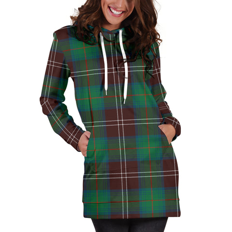 Chisholm Hunting Ancient Tartan Hoodie Dress HJ4