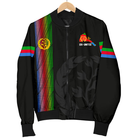 Eritrea Men's Bomber Jacket - Eritrea United A7