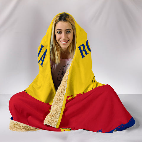 Romania Special Hooded Blanket A5 | Love The World