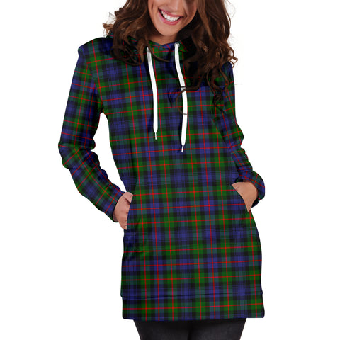 Murray Of Atholl Modern Tartan Hoodie Dress HJ4 |Women's Clothing| 1sttheworld