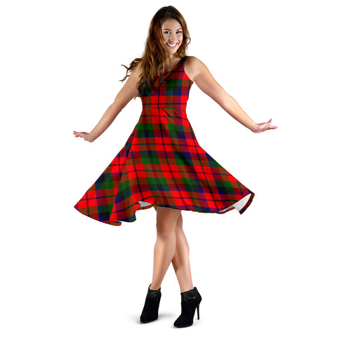 MacNaughton Modern Tartan MiDi Dress | Women Dresses | Hot Sale