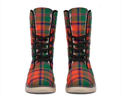 Image of Stewart of Appin Ancient Tartan Polar Boots Hj4