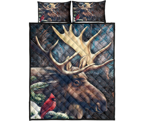 Canada Quilt Bed Set - The Great Moose