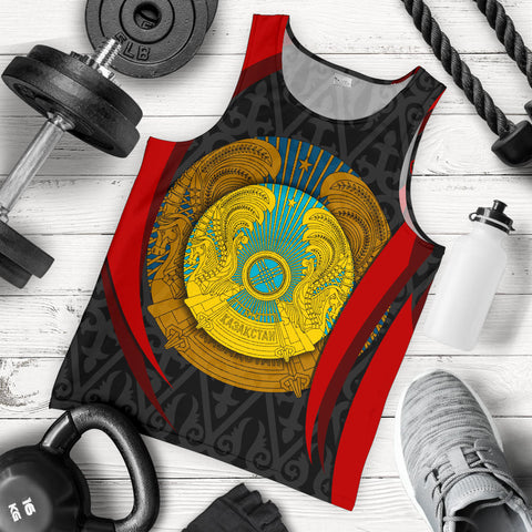 Image of Kazakhstan Men's Tank Top - Kazakhstan Spirit - BN1518