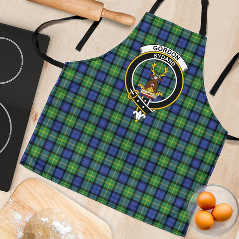 Gordon Old Ancient Tartan Clan Crest Apron HJ4