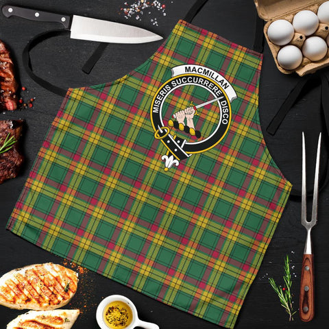 MacMillan Old Ancient Tartan Clan Crest Apron HJ4