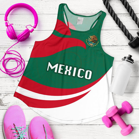 Image of Mexico Women Racerback Tank Proud Version K4