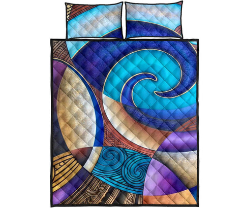 Image of Maori Quilt Bed Set 06 Bn10