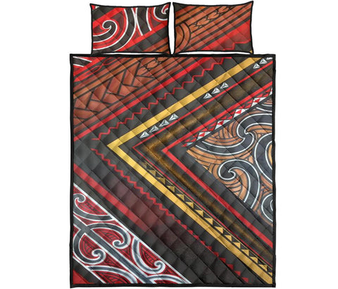 Image of Maori Quilt Bed Set 05 Bn10