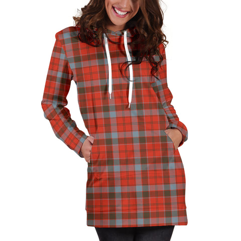 Robertson Weathered Tartan Hoodie Dress HJ4