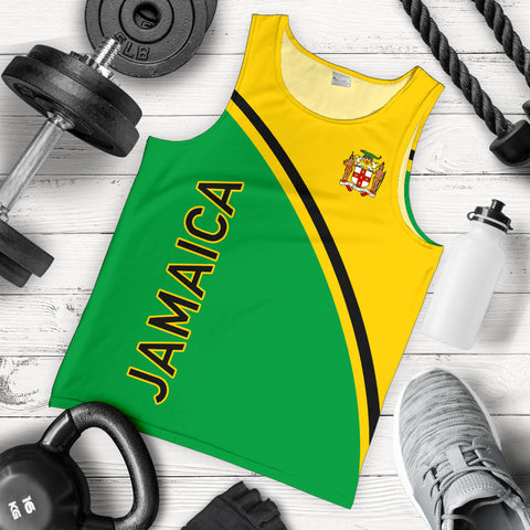 Jamaica Men's Tank Top - Curve Version - BN04