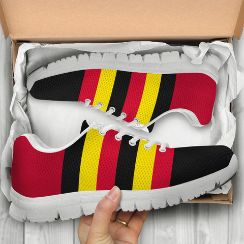 Image of 1stTheWorld Uganda Sneakers, Uganda Strong Flag A10