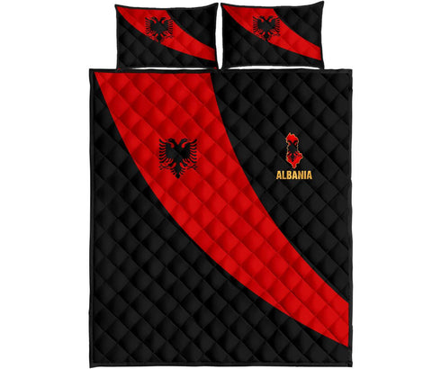 Albania Quilt Bed Set Special Flag A21
