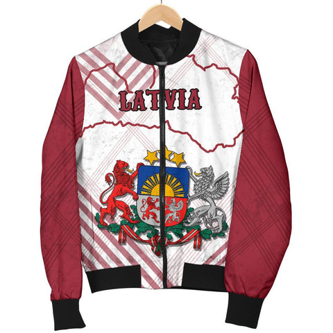 Image of Latvia Women Bomber Jacket K5