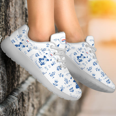 THE NETHERLANDS Symbols Sport Sneakers | Love The World