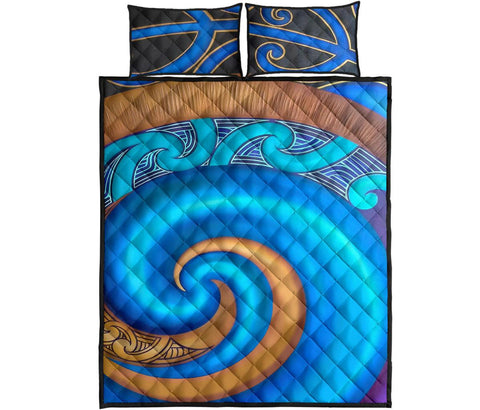 Image of Maori Quilt Bed Set 30 Bn10