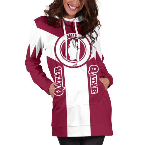 Image of Qatar Hoodie Dress Rising A10
