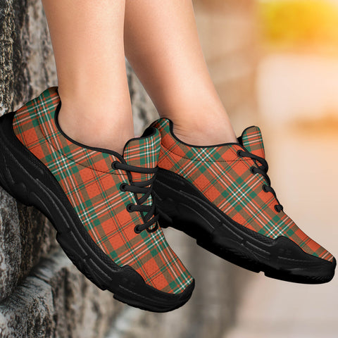 Image of SCOTT ANCIENT Tartan Chunky Sneaker - BN