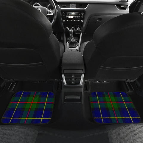 Macleod Of Harris Modern Tartan Car Floor Mat 4 Pieces K7