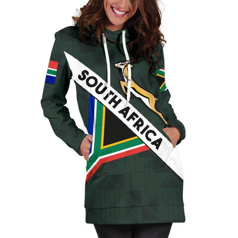 South Africa Hoodie Dress Springbok Miss Style | CLothing