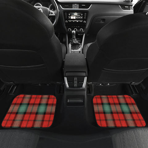 Kerr Ancient Tartan Car Floor Mat 4 Pieces K7