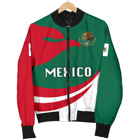 Mexico Women Bomber Jacket Proud Version K4