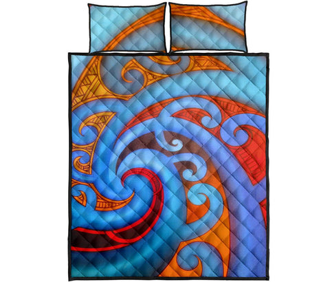 Image of Maori Quilt Bed Set 36 Bn10