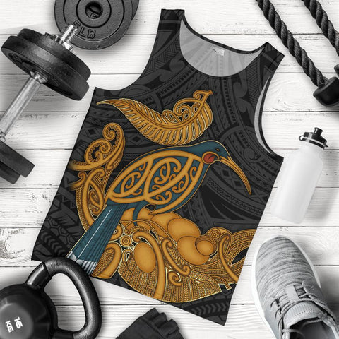 New Zealand Men's Tank - Aotearoa Kiwi
