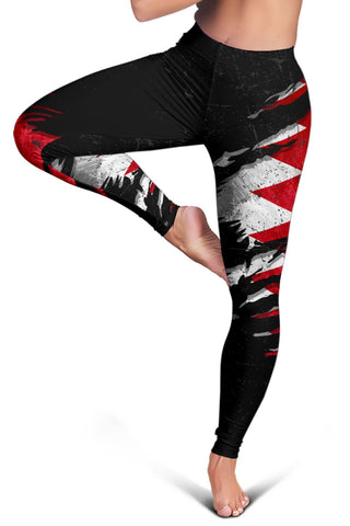 Bahrain In Me Women's Leggings - Special Grunge Style A31