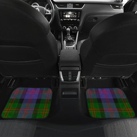Blair Modern  Tartan Clan Badge Car Floor Mat 4 Pieces K7
