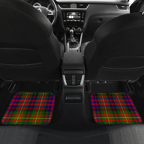 Image of Carnegie Modern  Tartan Clan Badge Car Floor Mat 4 Pieces K7