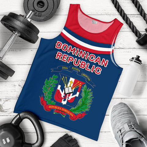 Dominican Republic Men Tank Top - Vibes Version K8