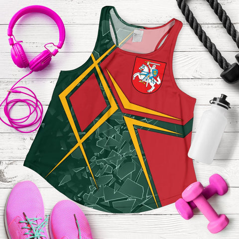 Image of Lithuania Women's Racerback Tank - Lithuania Legend