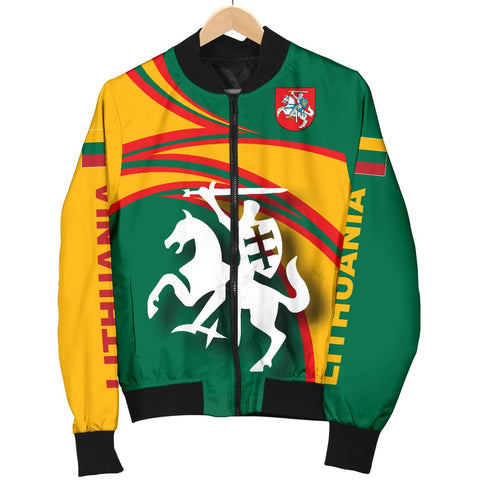 Image of Lithuania Bomber Jackets N Flag A15