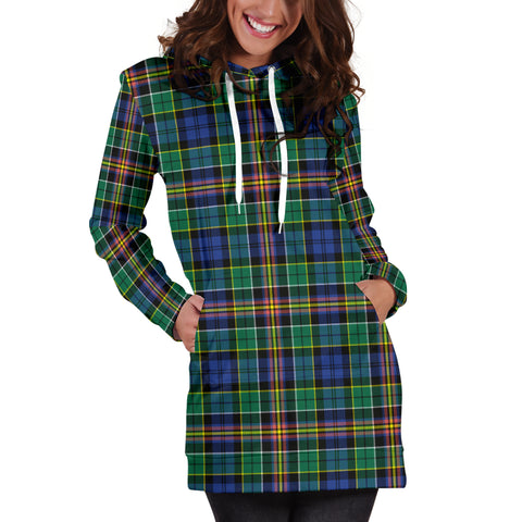 Allison Tartan Hoodie Dress HJ4