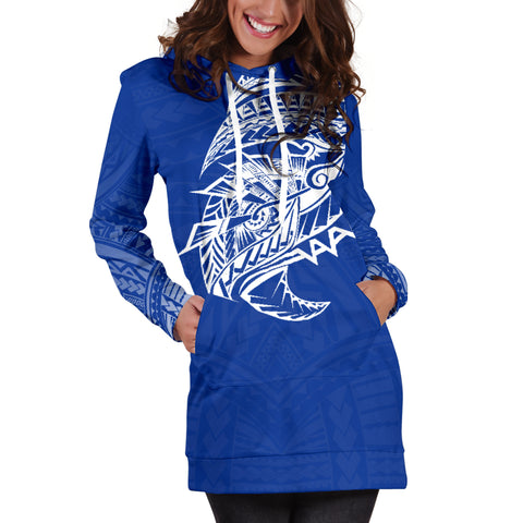 Samoa Tattoo Hoodie Dress Rugby Style K4 |Women's Clothing| 1sttheworld