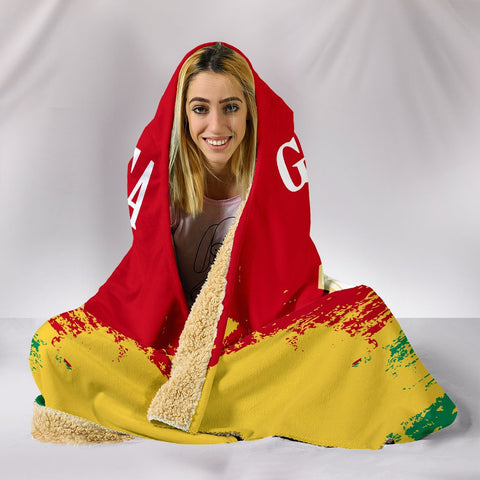 Image of Guinea Special Hooded Blanket A7