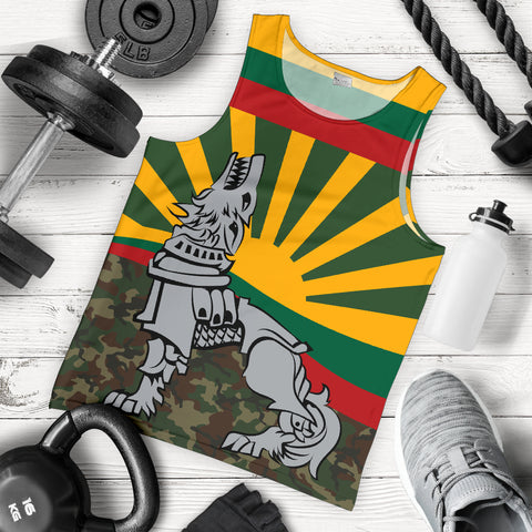 Lithuania Tank Top Iron Wolf A7