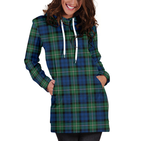 Forbes Ancient Tartan Hoodie Dress HJ4 |Women's Clothing| 1sttheworld