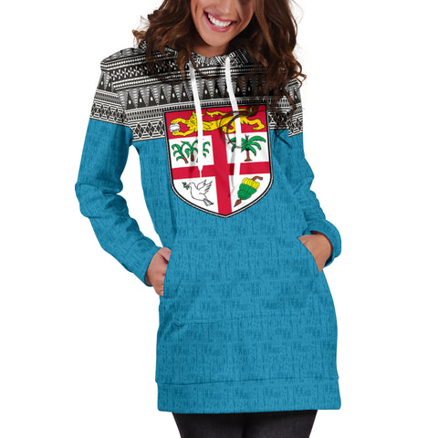 Fiji Women's Hoodie Dress - BN09