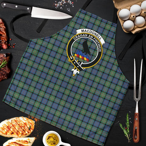 MacDonnell of Glengarry Ancient Tartan Clan Crest Apron HJ4