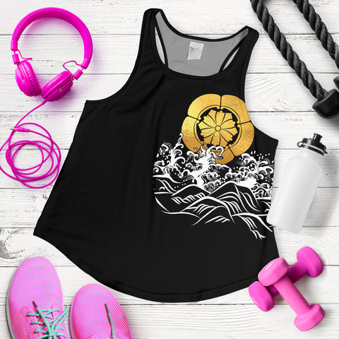 Image of The Golden Koi Fish Women's Racerback Tank A7