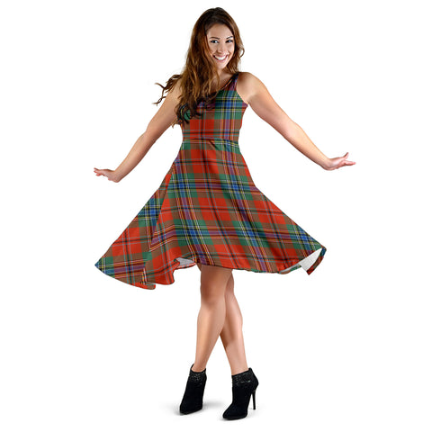 MacLean of Duart Ancient Tartan MiDi Dress | Women Dresses | Hot Sale