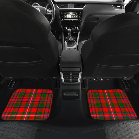 MacKinnon Modern Tartan Car Floor Mat 4 Pieces K7