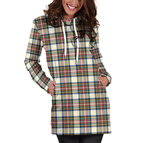 Image of Stewart Dress Ancient Tartan Hoodie Dress HJ4 |Women's Clothing| 1sttheworld