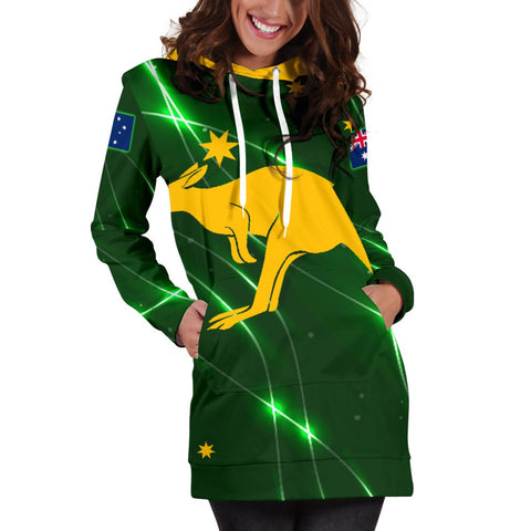The Aussie Women's Hoodie Dress A10