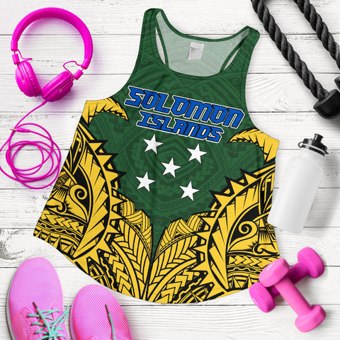 Solomon Islands Premium Racerback Tank A7